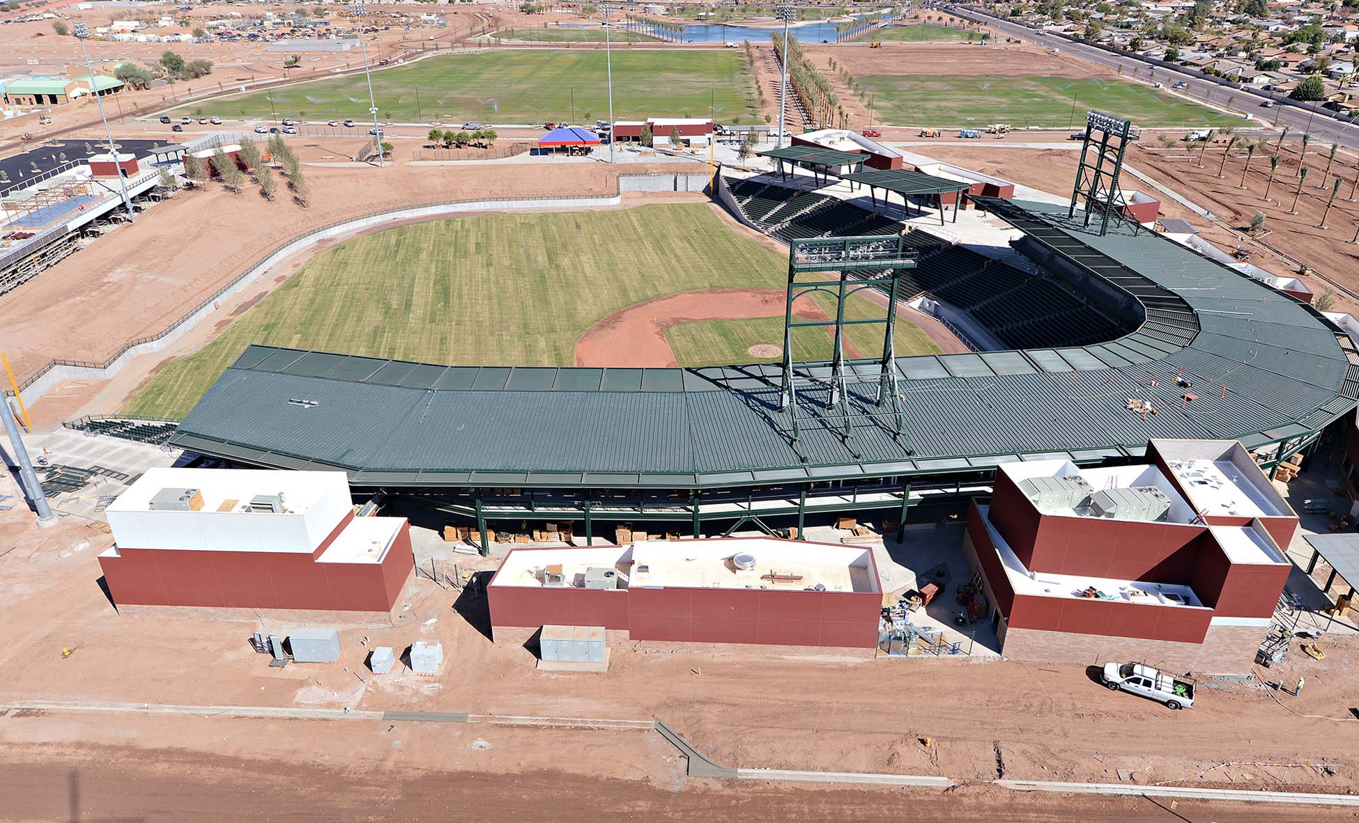 Sloan Park Chicago Cubs Baseball Training Complex