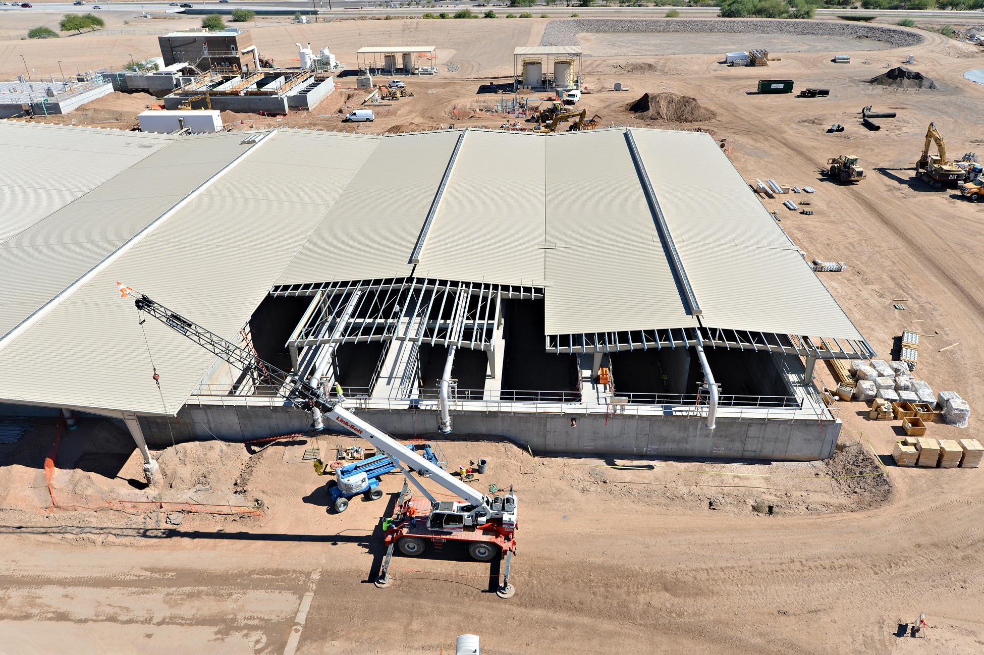 Chandler Airport Water Reclamation Project construction 2