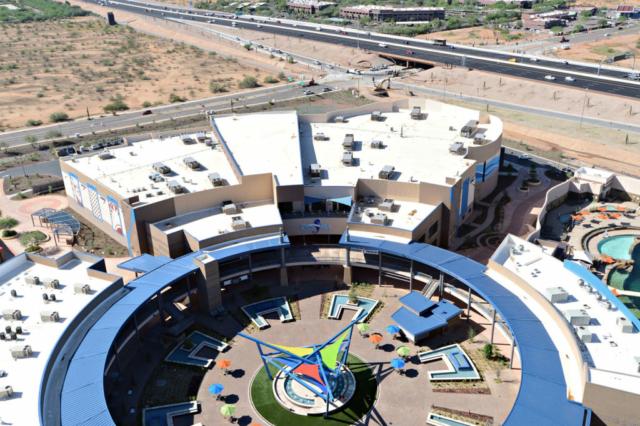 OdySea Aquarium aerial image