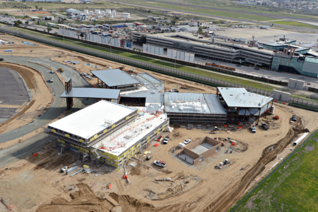 OTAY: TIJUANA – SAN DIEGO CROSS BORDER FACILITY construction