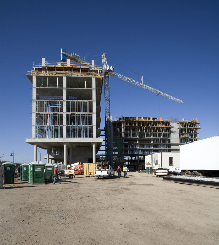 Arizona State University construction